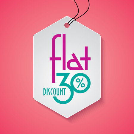 product background: Sale shopping background and label for business promotion Illustration