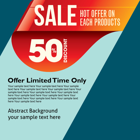 mega sale: sale shopping background and label for business promotion