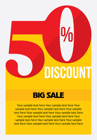 mega: sale shopping background and label for business promotion