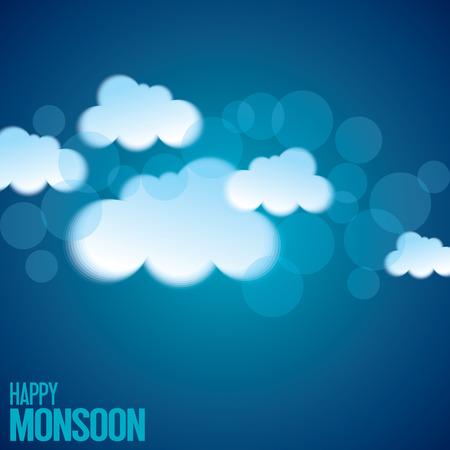 himmel hintergrund: Hintergrund für glücklich Monsun-Jahreszeit.