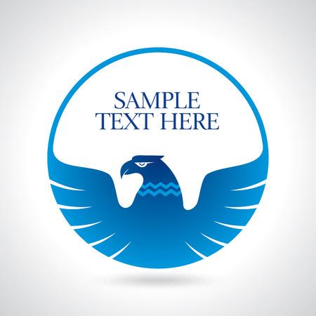Graceful hochfliegender Adler mit ausgebreiteten Flügeln Lizenzfreie Bilder - 41621681