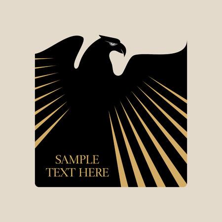 Graceful hochfliegender Adler mit ausgebreiteten Flügeln Standard-Bild - 41621759
