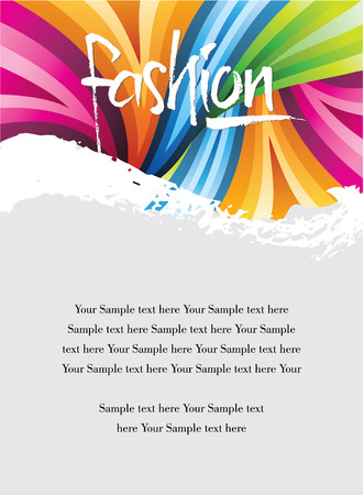 perfect: Cover design with perfect fashion card