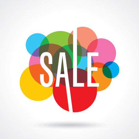Sale design template vector Stockfoto - 42932047