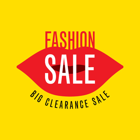 sell off: Sale design template vector