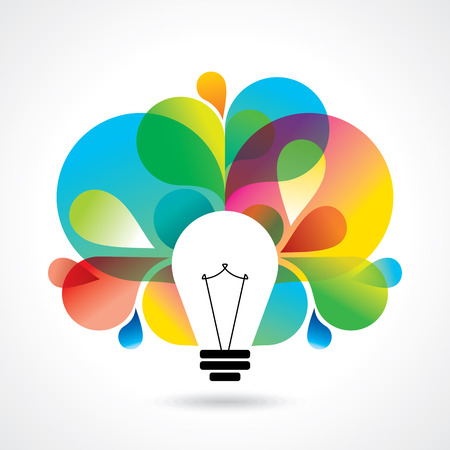 multicolor business idea vector Ilustrace
