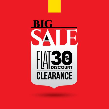 sale off: Sale design template vector