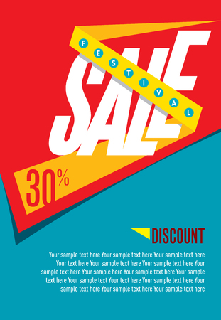 fl: sale shopping background and label for business promotion