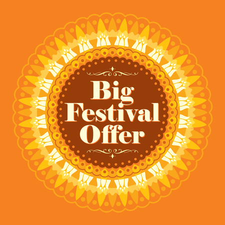 feestelijk: Vector ontwerp voor Deepawali festival.
