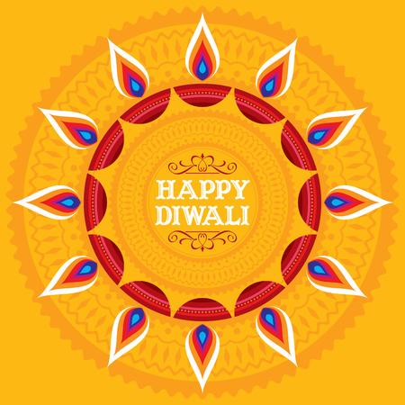 Deepawali 축제 벡터 디자인. 스톡 콘텐츠 - 46724022