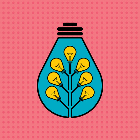 concept and ideas: Vector illustration, ideas growth concept. Illustration