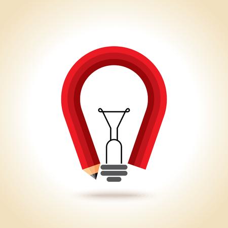 Creative concept of best idea