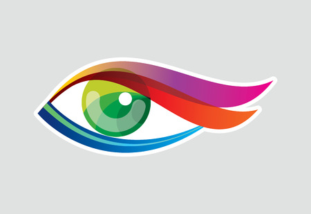 Creative Eye, Concept vector Stock Illustratie