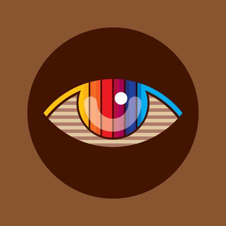 see: Creative Eye, Concept vector Illustration