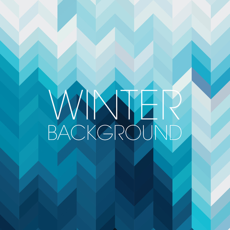 graphic background: abstract background consisting of triangles Illustration