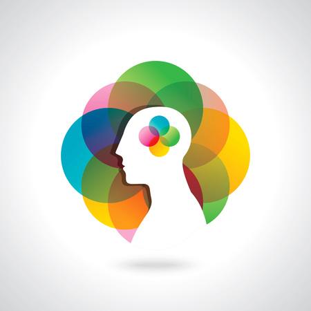 pensamiento creativo: idea de pensamiento empresarial, diseño creativo