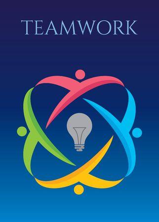 alliance: Teamwork idea concept
