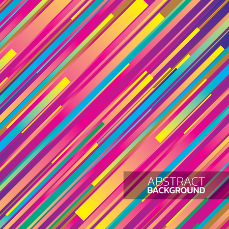 stripped background: Abstract stripped background - yellow, magenta