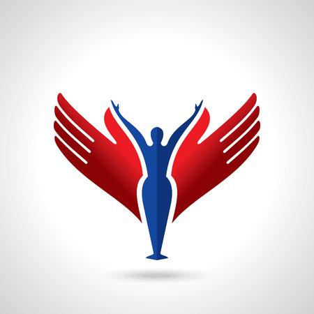 vector de yoga / iconos de spa y diseño gráfico, diseño de logotipos.