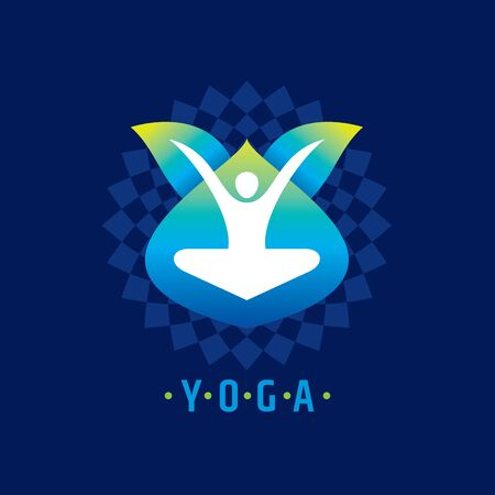 spa resort: Vector yoga  spa icons and graphic design,  design.