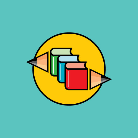 abstract academic: Poster design of Back to school. Vector illustration.