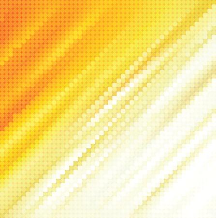 Abstracte gestippelde gele achtergrond textuur Vector Illustratie