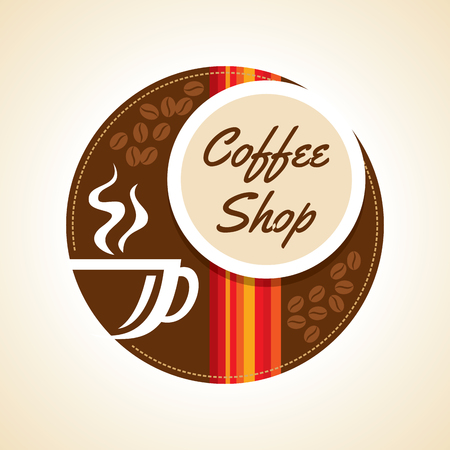vector backgrounds: Coffee design template, creative vector Illustration