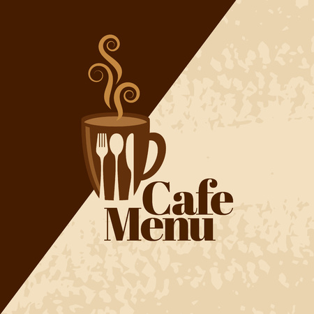 Coffee design template, creative vector Illustration