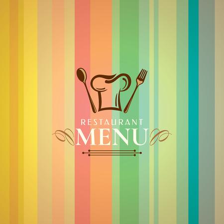 Restaurant menu card design template, Creative vector. Vector Illustration