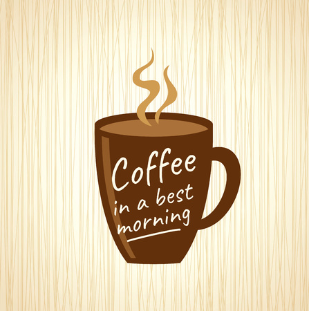 coffee beans: Coffee design template, creative vector Illustration