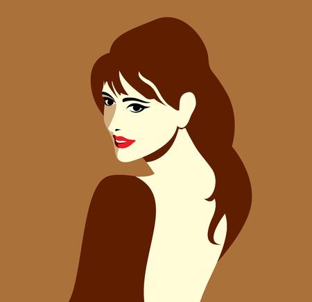 salon: creative fashion women portrait