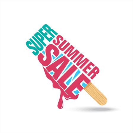 flayer: Summer Sale banner design template for promotion