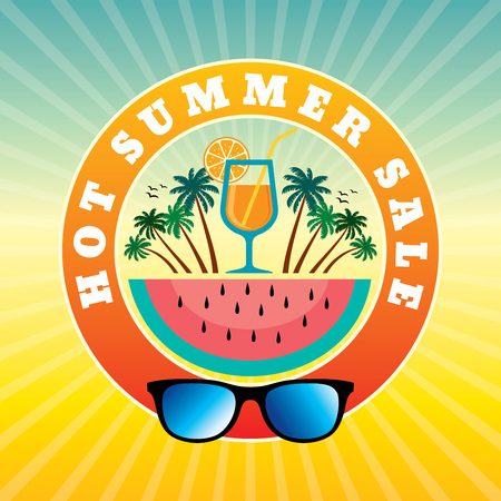 ultimate: Summer Sale banner design template for promotion
