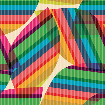 Retro pattern of geometric shapes. Colorful mosaic backdrop. Geometric hipster retro background. Illustration