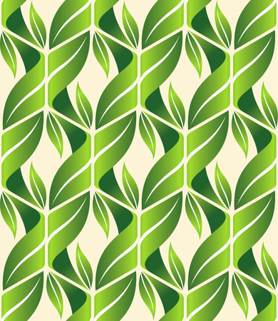 repetition: Abstract Nature Pattern with plants, flowers. Endless pattern can be used for wallpaper, pattern fills, web page background, surface textures.Retro wallpaper, background, fabric and interior design usage