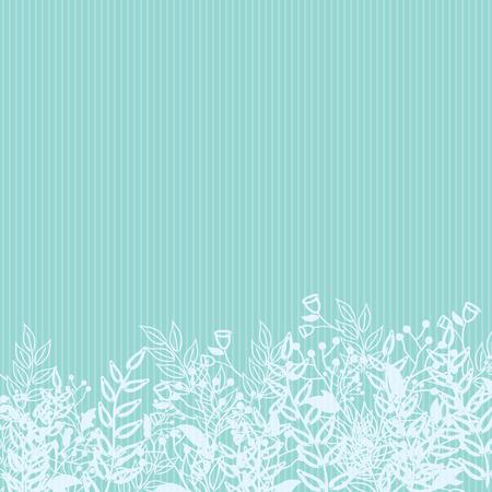 Modèle de Nature abstraite avec des plantes, des fleurs. Modèle sans fin peut être utilisé pour le papier peint, motifs de remplissage, fond de page web, textures de surface. Papier peint rétro, fond, utilisation de tissu et de design d'intérieur Vecteurs