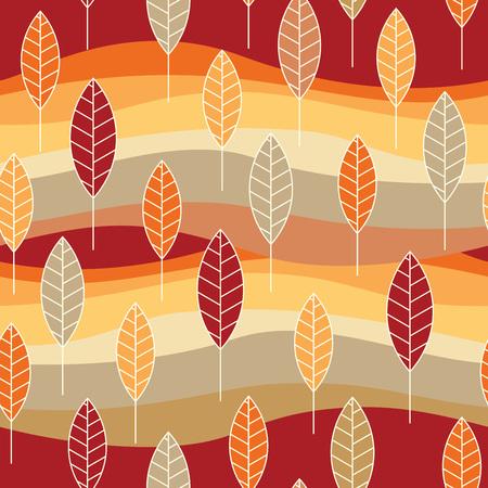 Abstrakt Natur Muster mit Pflanzen, Blumen. Endless Muster kann für Tapeten, Muster füllt, Web-Seite Hintergrund, Oberflächen textures.Retro Hintergrund, Hintergrund, Stoff und Interieur Design-Nutzung Illustration