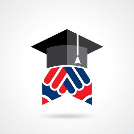Creative education deal idea Illustration