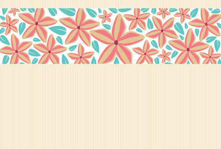 Flower invitation card, save the date card, greeting card template