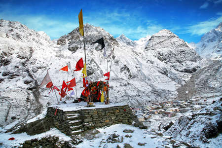 Bhairavnath (Bhairav Baba Nath Temple) in Kedarnath, Uttarakhand state in India