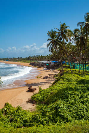 Beautiful Sinquerim Beach of Goa, Famous tourist destination, Goa, India