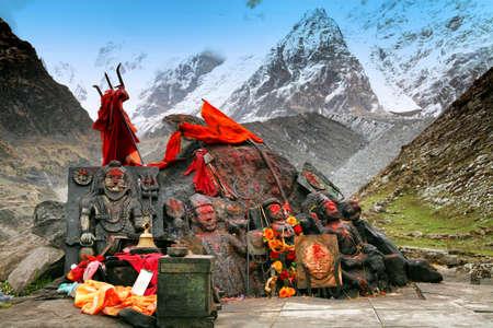 Bhairavnath (Bhairav Baba Nath Temple) in Kedarnath, Uttarakhand state in India