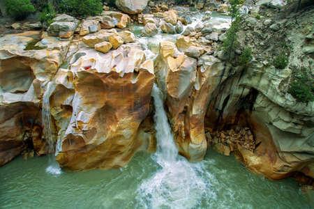 Beautiful view of surya kund at gangorti, Uttarakhand, India.