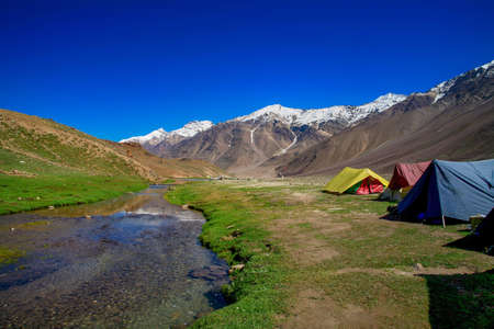 Chandratal Lake is a high altitude lake in Spiti Valley, India. Also known as Lake of the moon, Himachal Pradesh, India.
