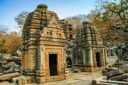Bateshwar Hindu temples (or Batesara) are a group of nearly 200 sandstone Hindu temples and their ruins in north Madhya Pradesh. It is an important spiritual and cultural centre for Hindus and Jains. It is known for the 101 Shiv Temple Complex.