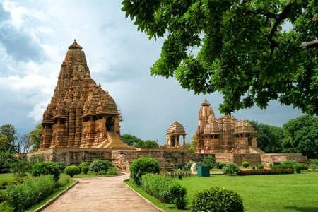 Kandariya Mahadeva Temple, Western Group of Temples, Khajuraho, Madhya Pradesh, India.