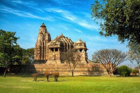 Chitragupta Temple, Western Group of Temples, Khajuraho, Madhya Pradesh, India.
