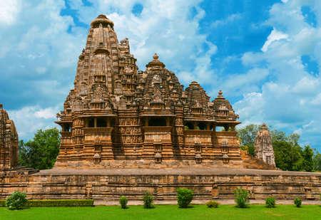Vishwanath Temple, Western Group of Temples, Khajuraho, Madhya Pradesh, India. \ Imagens