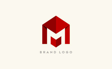 Modern Letter M and W design. Creative minimal monogram symbol. Premium business . Graphic alphabet symbol for corporate business identity. 向量圖像