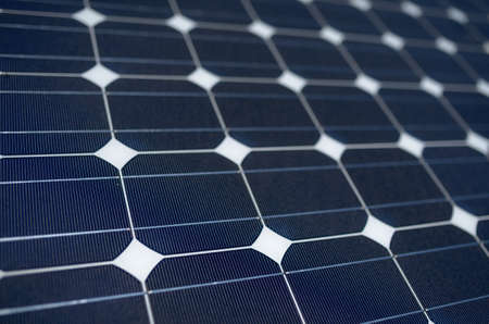 tilted: texture tilted blue solar panels